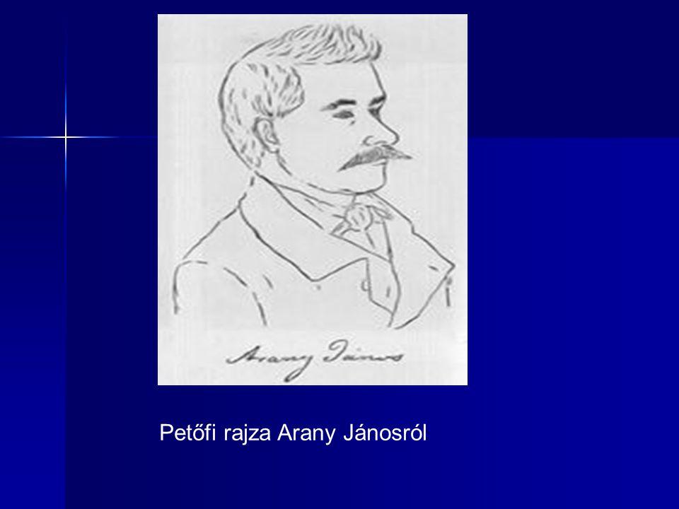 Petőfi rajza Arany Jánosról