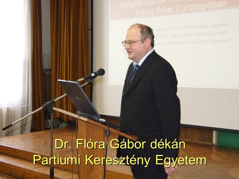 49 Dr. Flóra Gábor dékán Partiumi Keresztény Egyetem