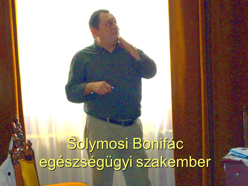 51 Solymosi Bonifác egészségügyi szakember