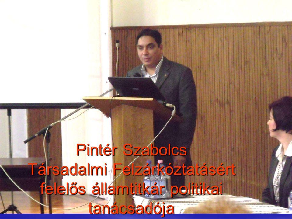 53 Pintér Szabolcs Társadalmi Felzárkóztatásért felelős államtitkár politikai tanácsadója
