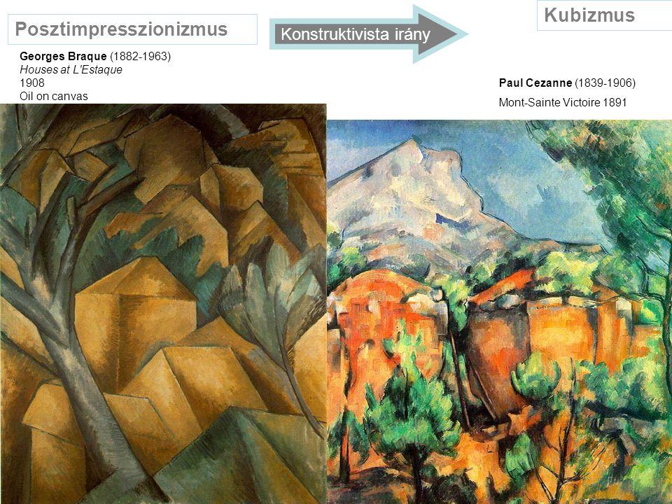 Posztimpresszionizmus Szintetizmus (1888) / szimbolikus, dekoratív irány Paul Gauguin (1848-1903) Jákob harca az angyallal 1891 Henri Matisse (1869-1954) Vörös szalon 1908 Fauve