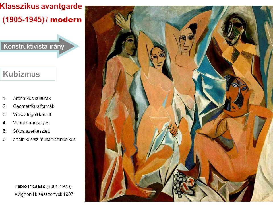 konstruktivizmus 1.Bauhaus (1919-1933) 2.VHUTEMASZ (1920-1932) 3.De Stijl (1917-1928) /neoplaszticitás/.