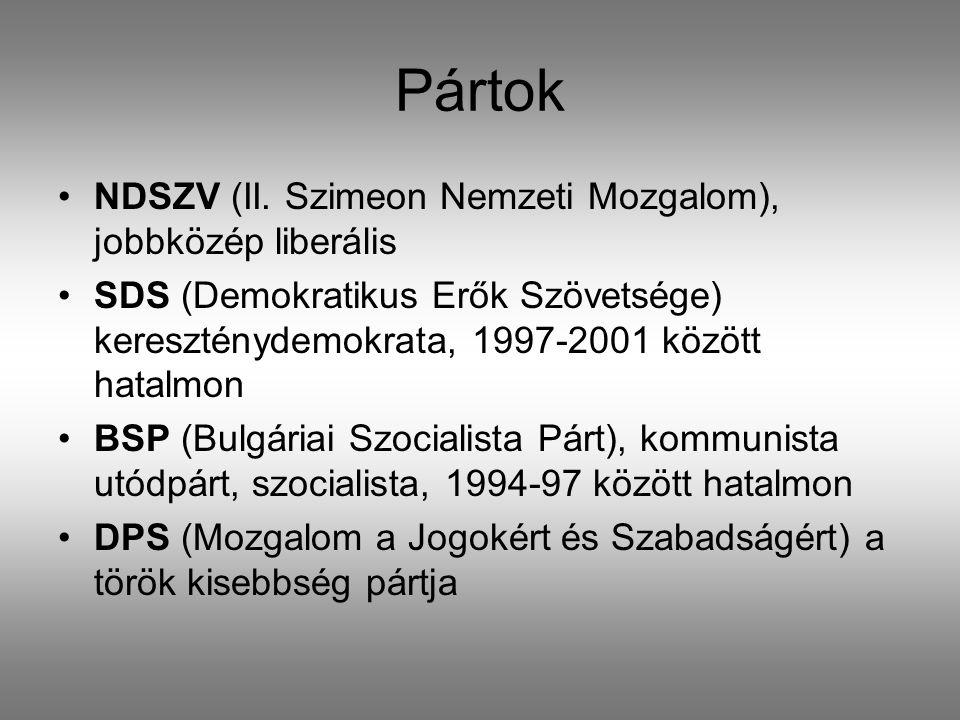 Pártok •NDSZV (II.