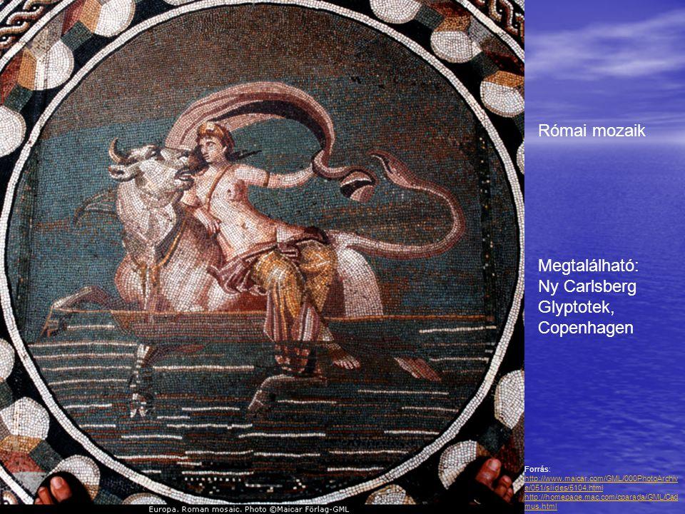 Forrás: http://www.maicar.com/GML/000PhotoArchiv e/051/slides/5104.html http://homepage.mac.com/cparada/GML/Cad mus.html http://www.maicar.com/GML/000