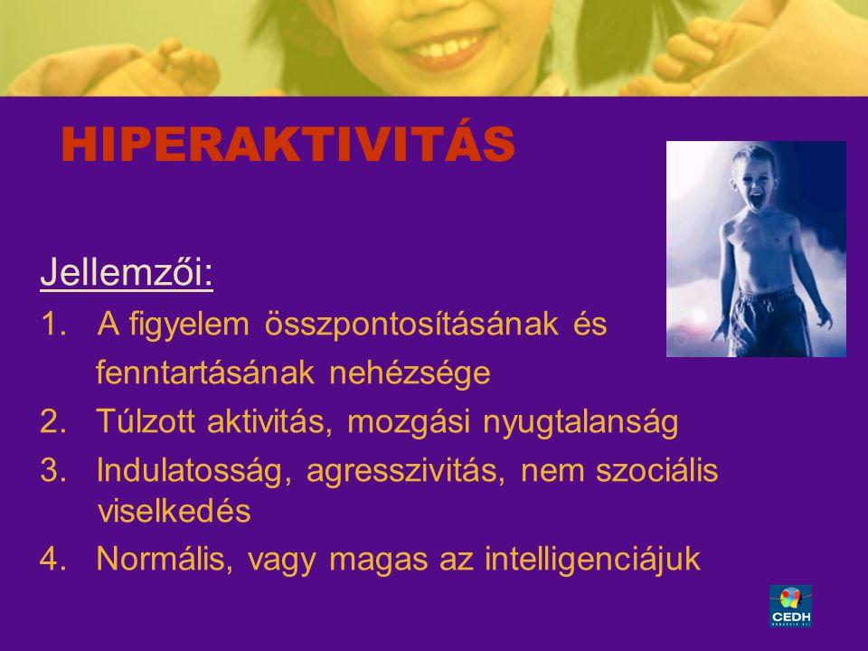 ACMF 060228 vers7 24 A hiperaktív gyerek esetében alkalmazott homeopátiás gyógyszerek neuromediátor hatásúak.