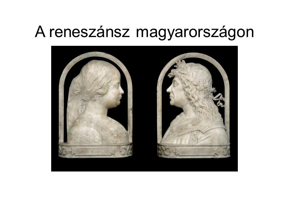 A magyarországi reneszánsz fejlődésmenete nagyjából három korszakra osztható.