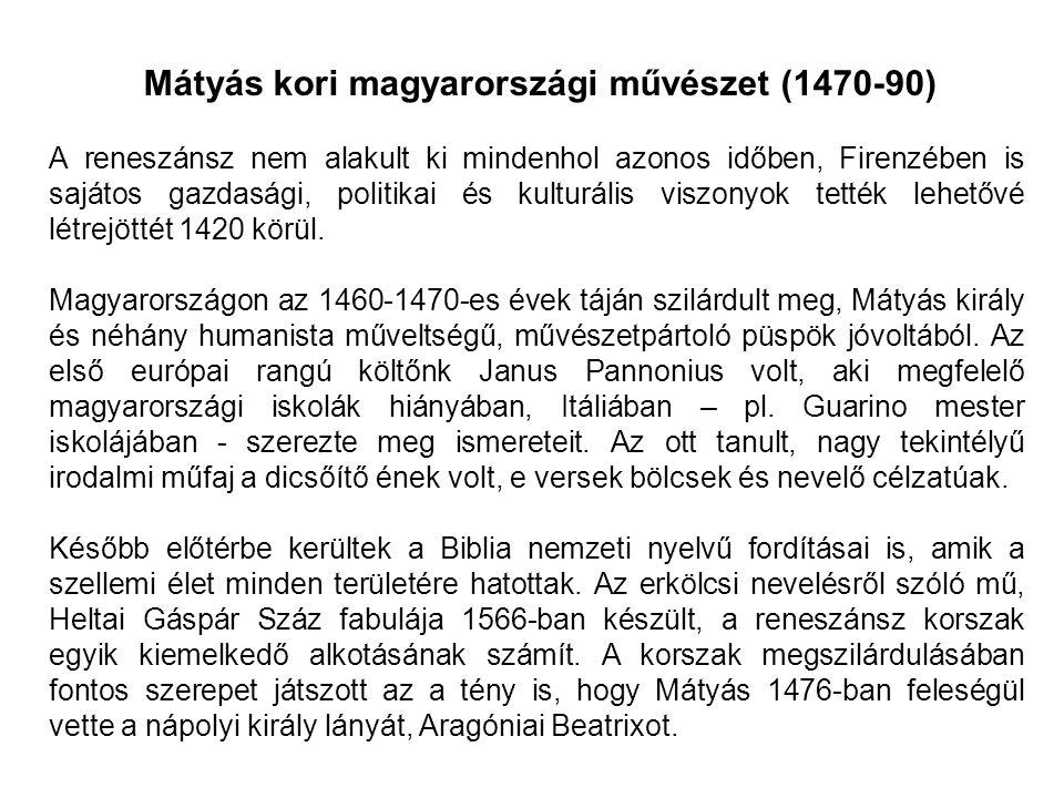 A reformáció korában a magyarországi kultúrában is a bekövetkezik az anyanyelvűség általánossá válása.