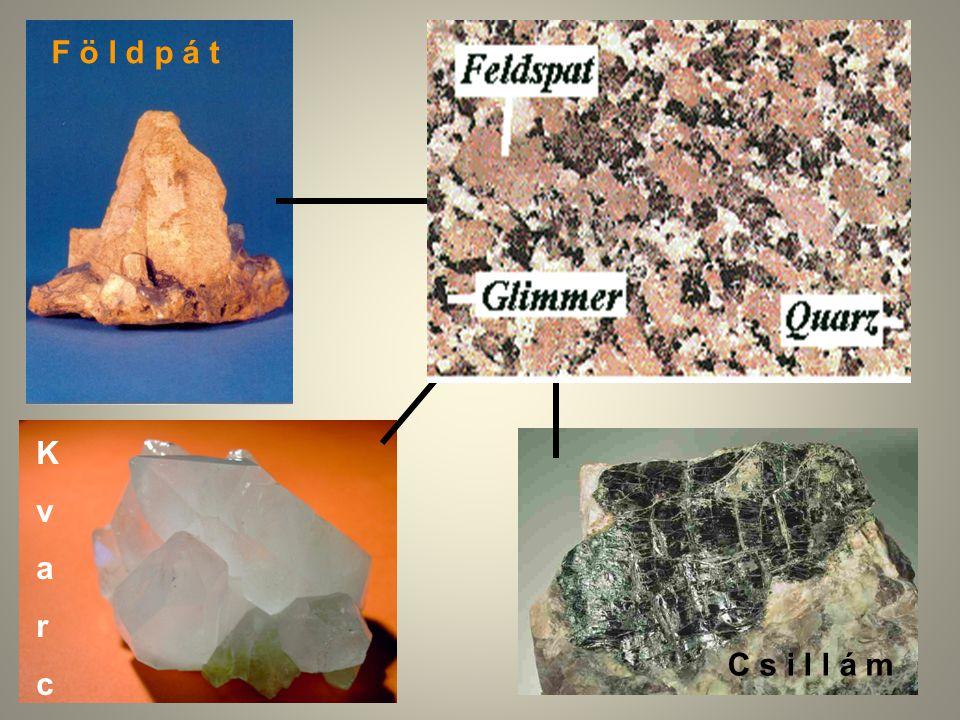 A kőzetek felosztása