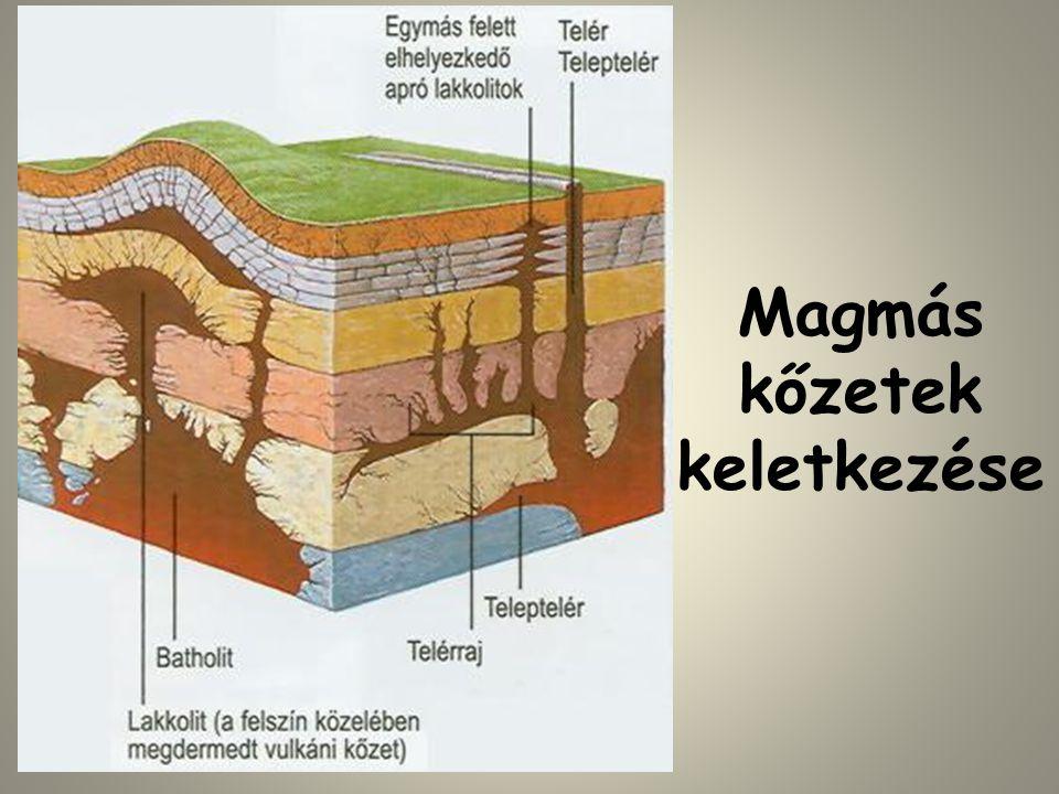 Magmás kőzetek keletkezése