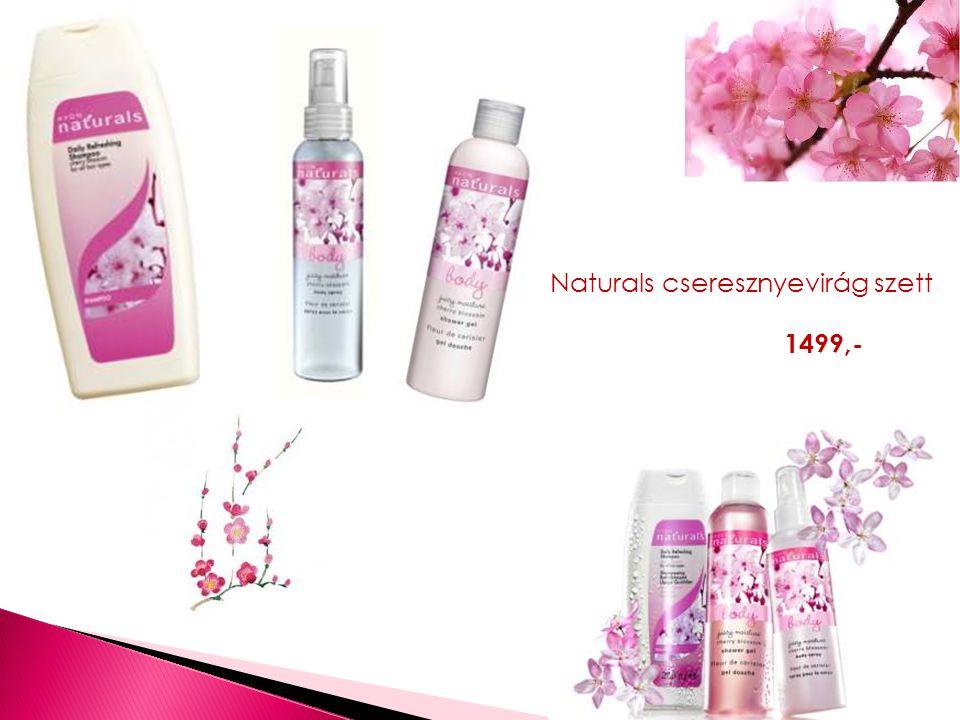 Naturals cseresznyevirág szett 1499,-