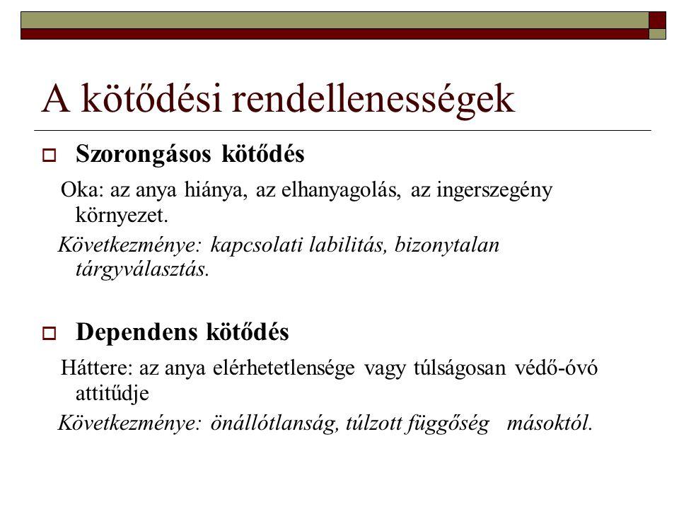 Az óvodai csoportosulások fejlődési szakaszai (Mérei Ferenc klasszikus vizsgálatai) 1.