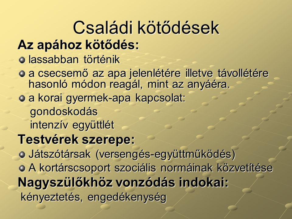 Az óvodai csoport néhány sajátossága  A csoportdinamikai törvényszerűségek érvényesülése.