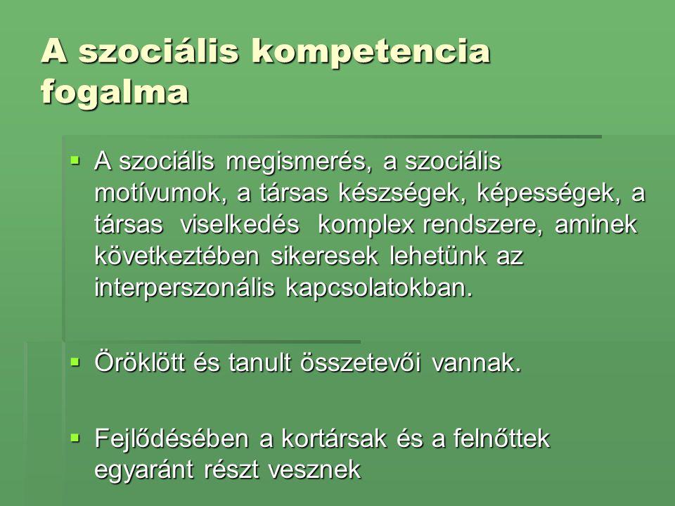 Az elutasított gyerekek típusai (Vajda Zsuzsa, 2002) 1.
