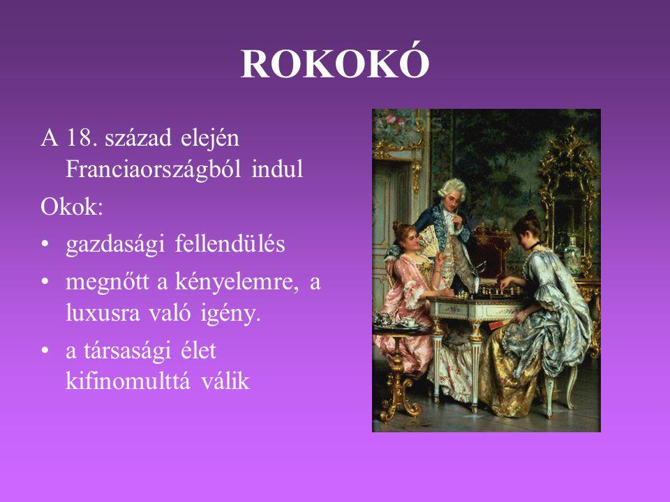 ROKOKÓ A 18.