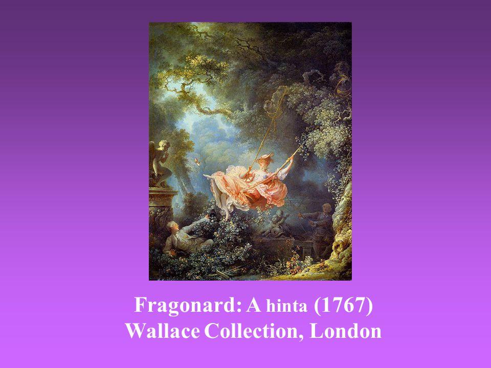 Fragonard: A hinta (1767) Wallace Collection, London