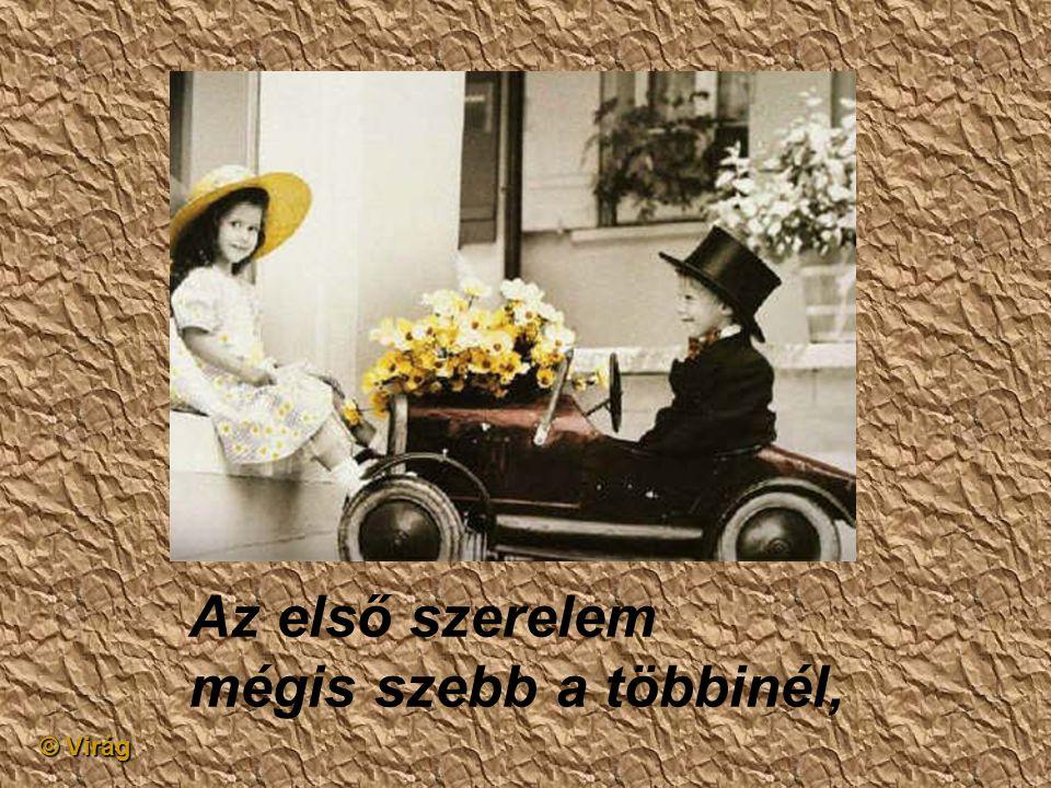 © Virág Az első szerelem legfeljebb egy kézfogás,