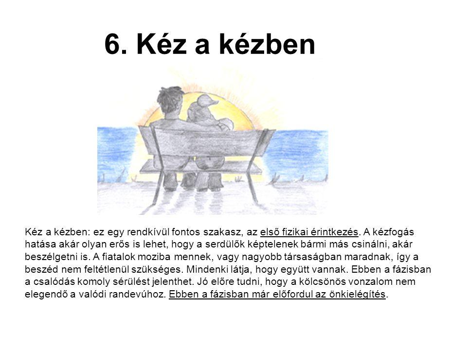 7.A csók A kézfogástól a csókig megtett lépés hatalmas.