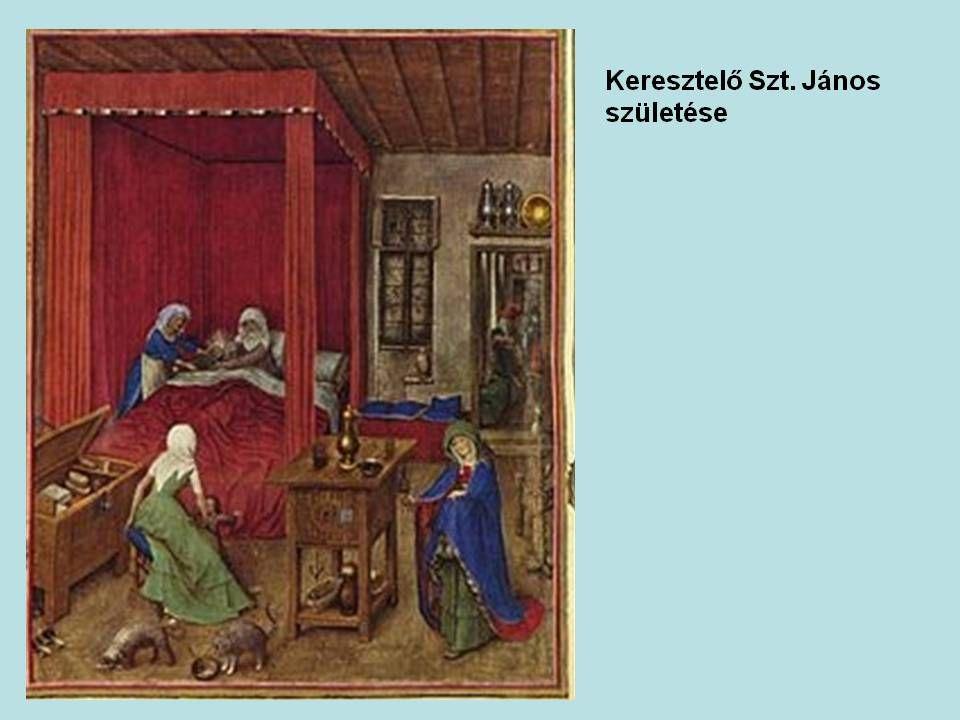 A Limbourg fivérek (Paul, Johan, Herman)1385, 1386, 1388-tól 1416-ig éltek, alkottak.