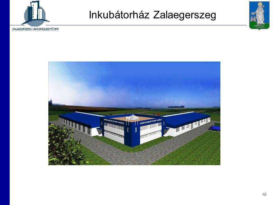 10 Inkubátorház Zalaegerszeg