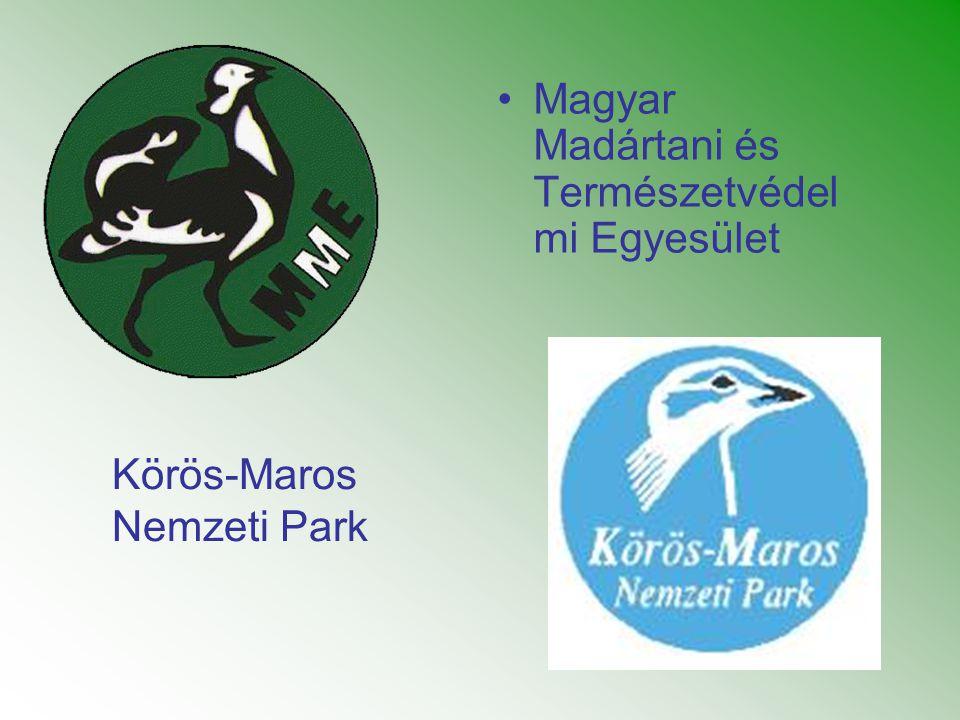 •Magyar Madártani és Természetvédel mi Egyesület Körös-Maros Nemzeti Park
