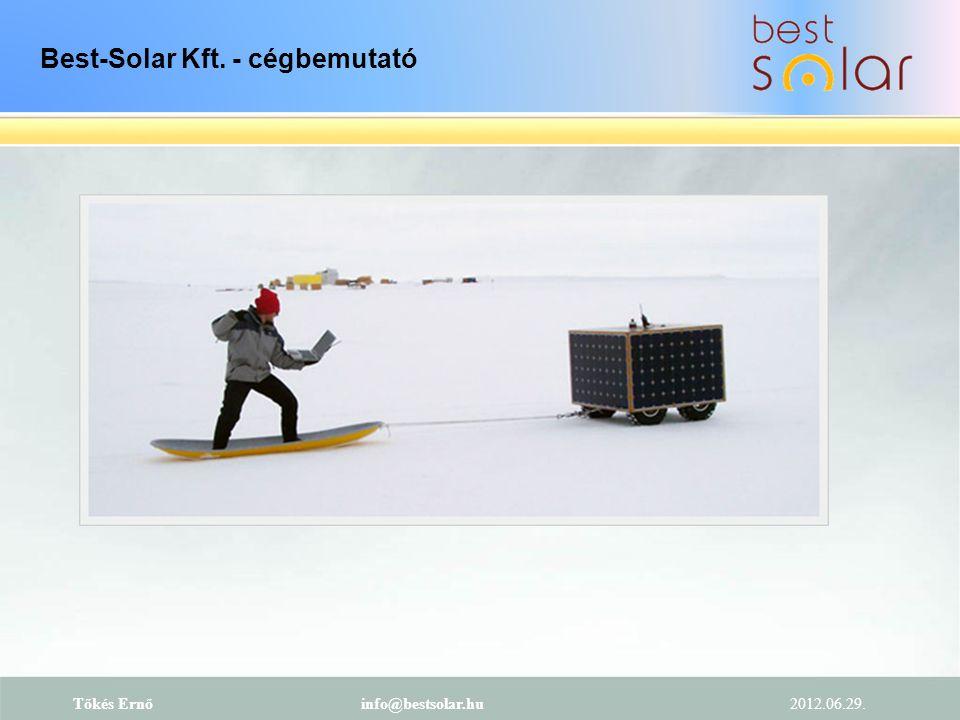 2012.06.29.. Tőkés Ernőinfo@bestsolar.hu Cégstratégiánk