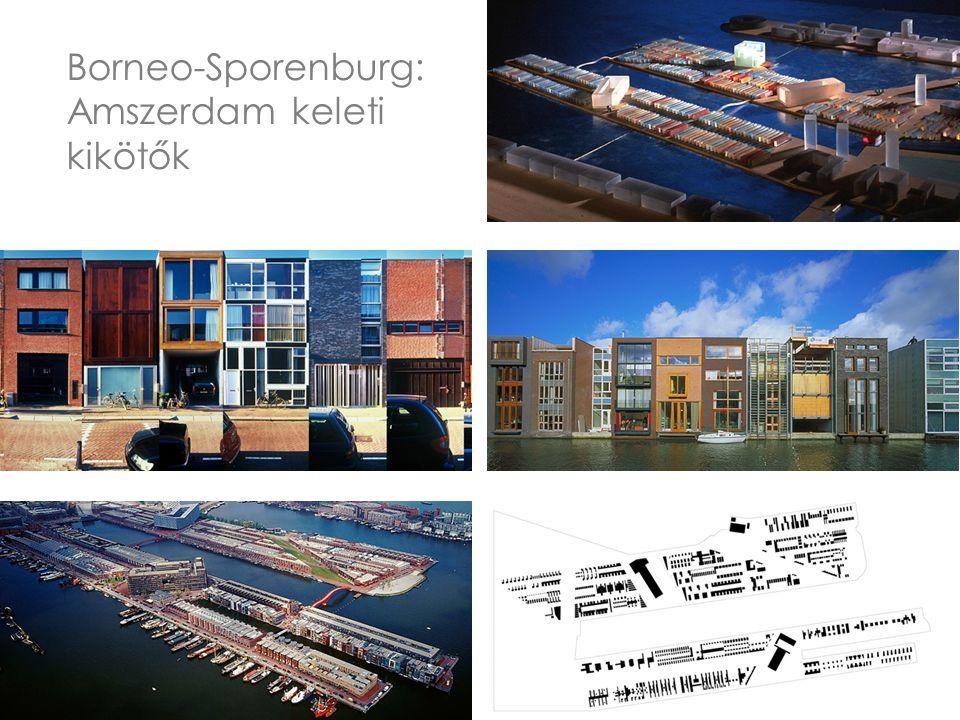 Borneo-Sporenburg: Amszerdam keleti kikötők