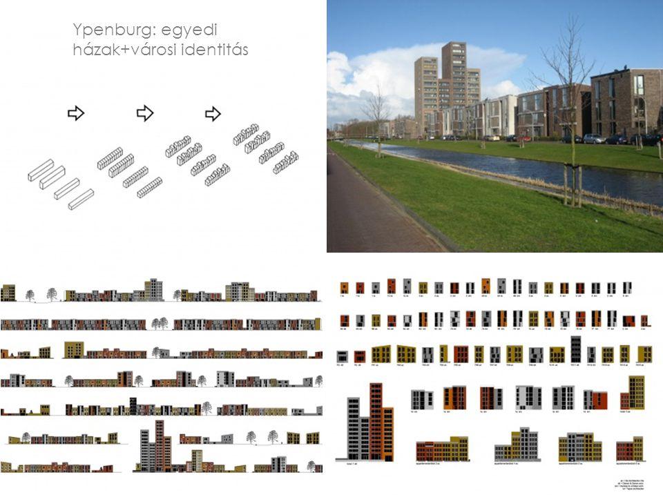 Ypenburg: egyedi házak+városi identitás