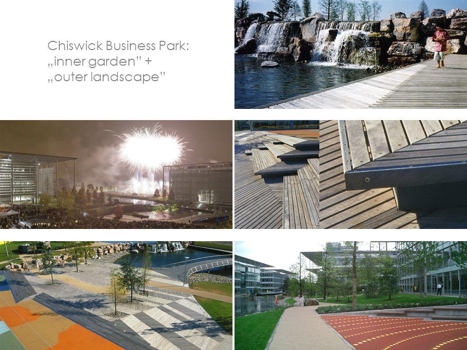 "Chiswick Business Park: ""inner garden + ""outer landscape"