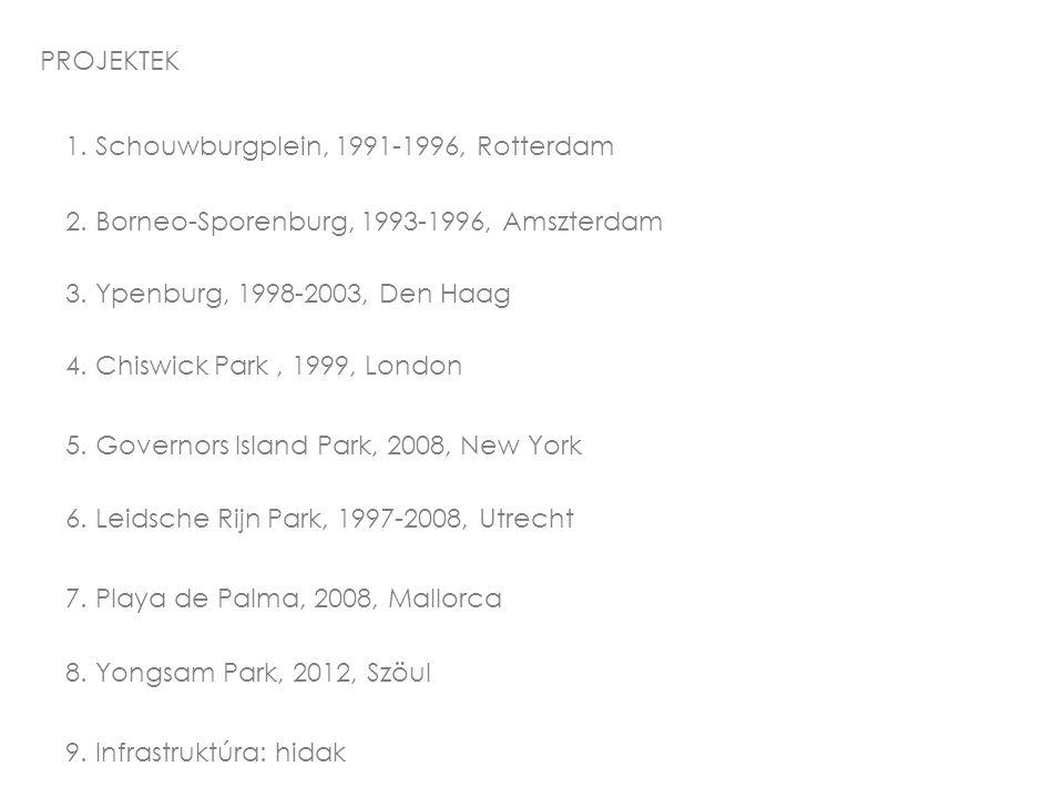PROJEKTEK 1. Schouwburgplein, 1991-1996, Rotterdam 2.