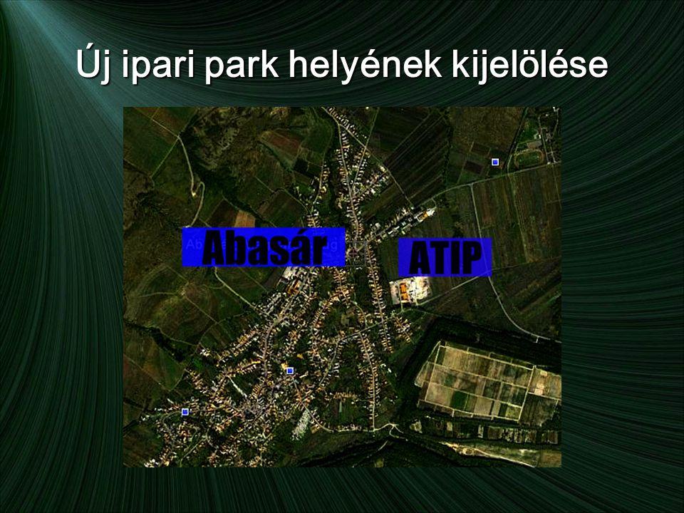 Új ipari park helyének kijelölése