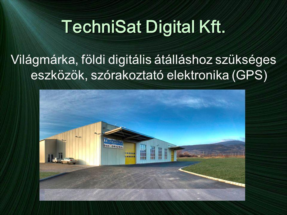 TechniSat Digital Kft. Világmárka, földi digitális átálláshoz szükséges eszközök, szórakoztató elektronika (GPS)