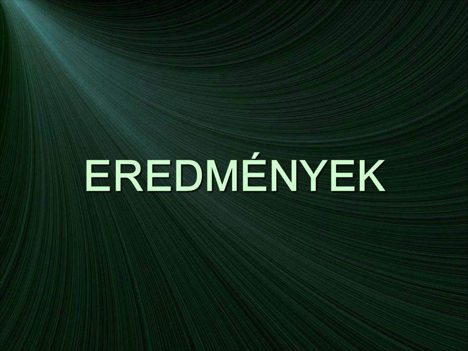 EREDMÉNYEK