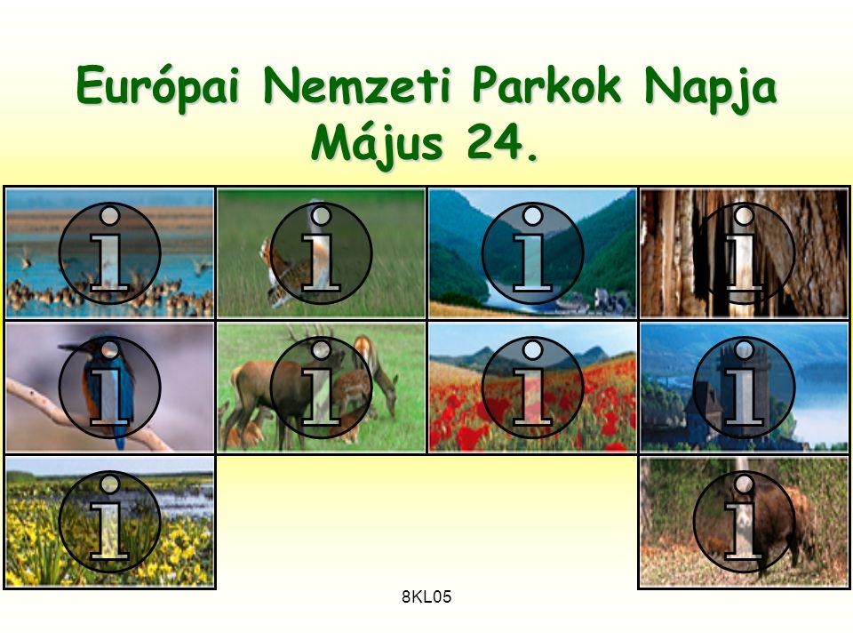 8KL05 Európai Nemzeti Parkok Napja Május 24.