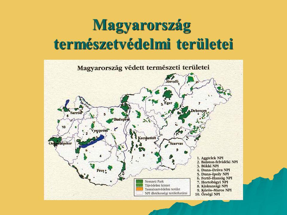 Magyarország természetvédelmi területei