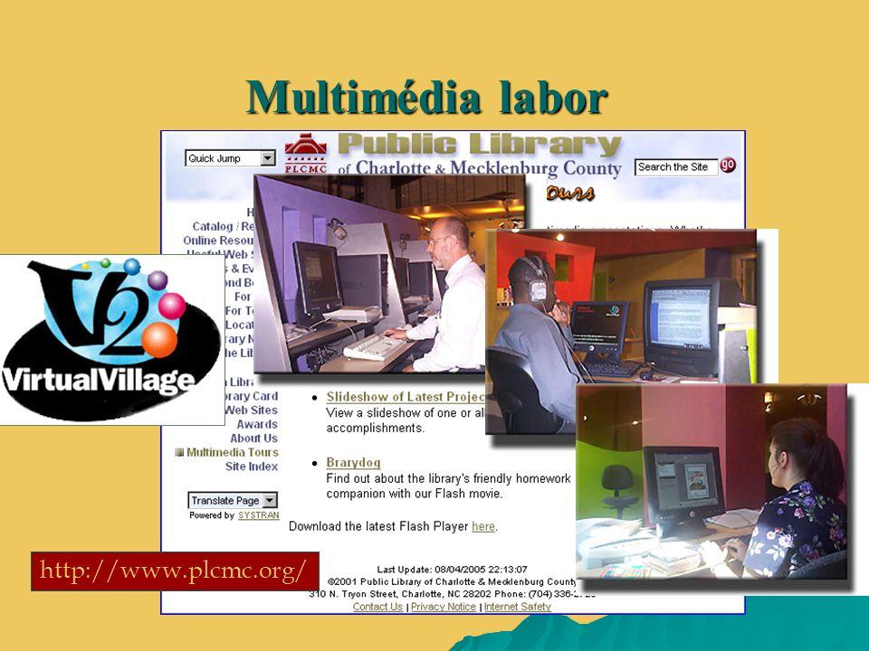 http://www.plcmc.org/ Multimédia labor