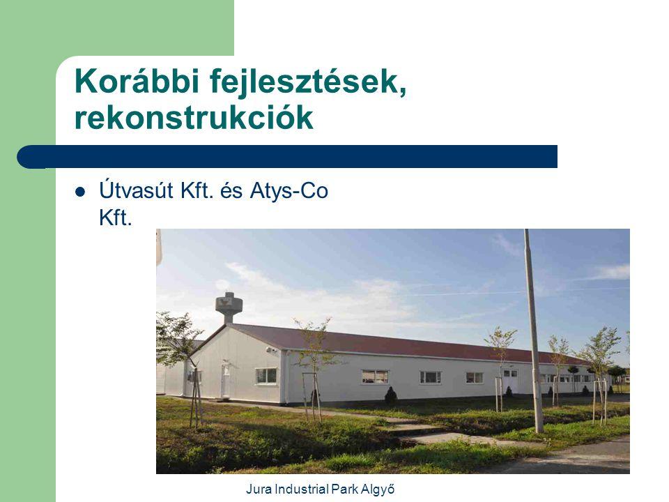 Jura Industrial Park Algyő Korábbi fejlesztések, rekonstrukciók  Ebédlő és irodaház rekonstrukció