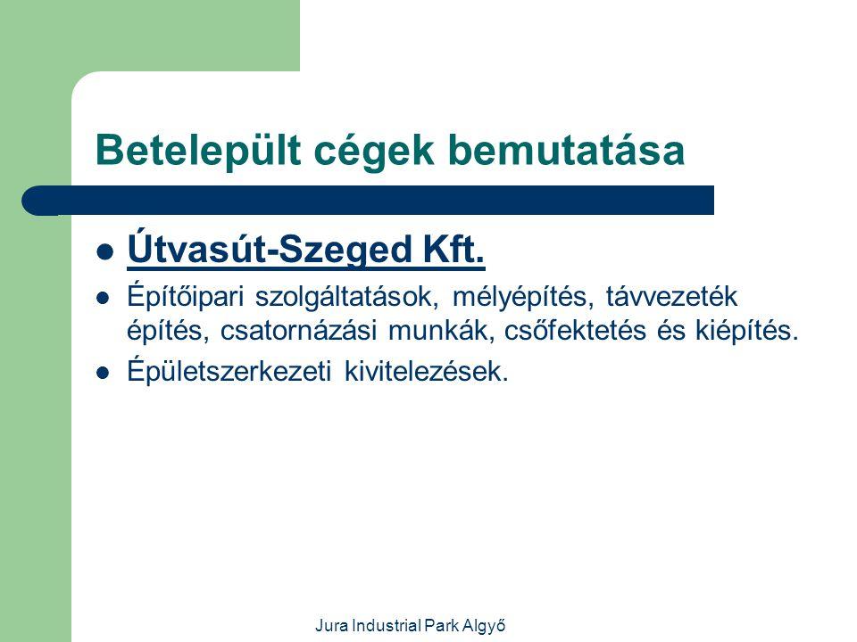 Jura Industrial Park Algyő Betelepült cégek bemutatása  Atys-Co Kft.