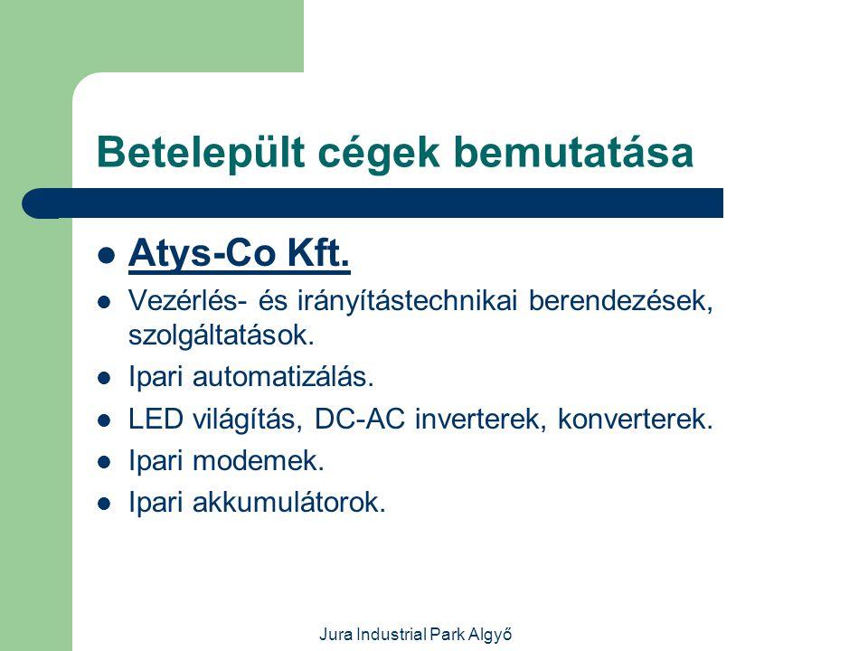 Jura Industrial Park Algyő Betelepült cégek bemutatása  Mobil-Gas Kft.