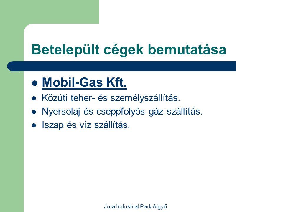 Jura Industrial Park Algyő Betelepült cégek bemutatása  Diász Kft.