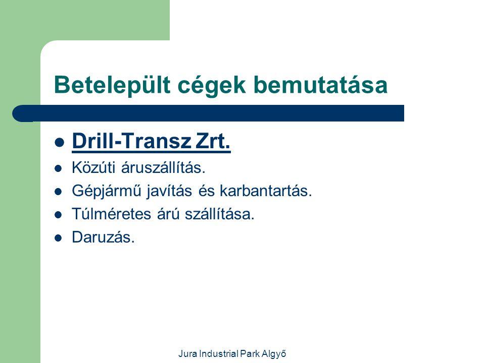 Jura Industrial Park Algyő Betelepült cégek bemutatása  Metkon-DS Kft.