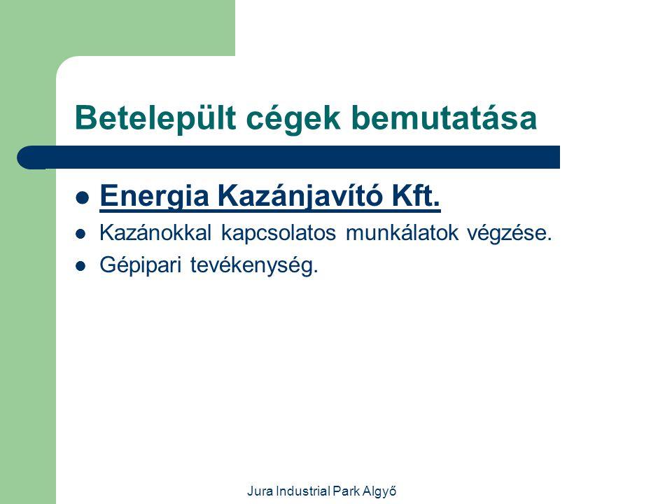 Jura Industrial Park Algyő Betelepült cégek bemutatása  Benelux Gastro Kft.