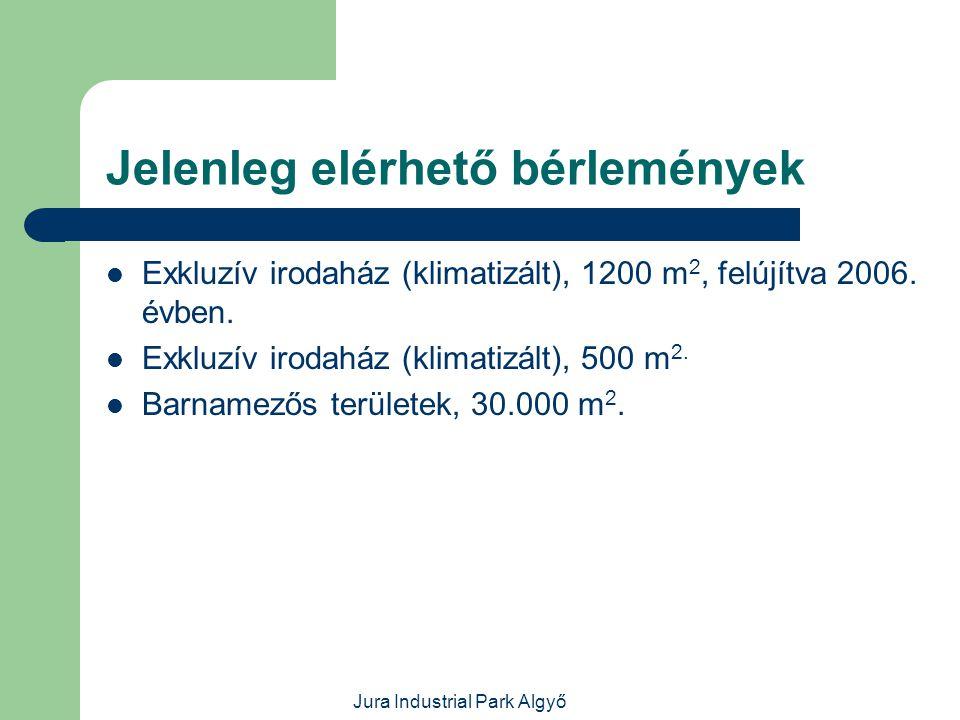 Jura Industrial Park Algyő Fejlesztés alatt álló,új létesítmények  1.500 m 2 csarnok építése.