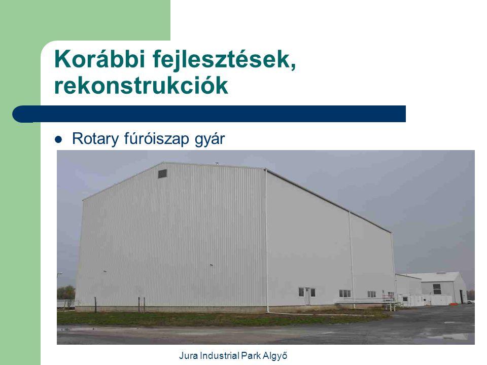 Jura Industrial Park Algyő Korábbi fejlesztések, rekonstrukciók  Halliburton műhelycsarnok és irodaház