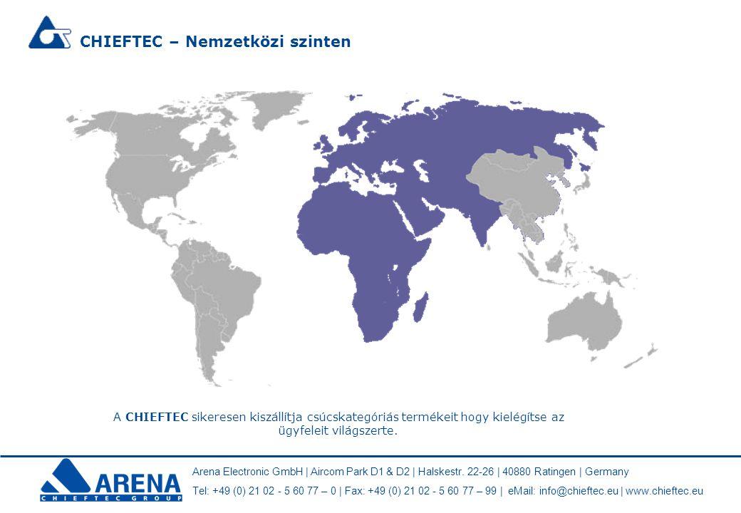 Arena Electronic GmbH | Aircom Park D1 & D2 | Halskestr. 22-26 | 40880 Ratingen | Germany Tel: +49 (0) 21 02 - 5 60 77 – 0 | Fax: +49 (0) 21 02 - 5 60
