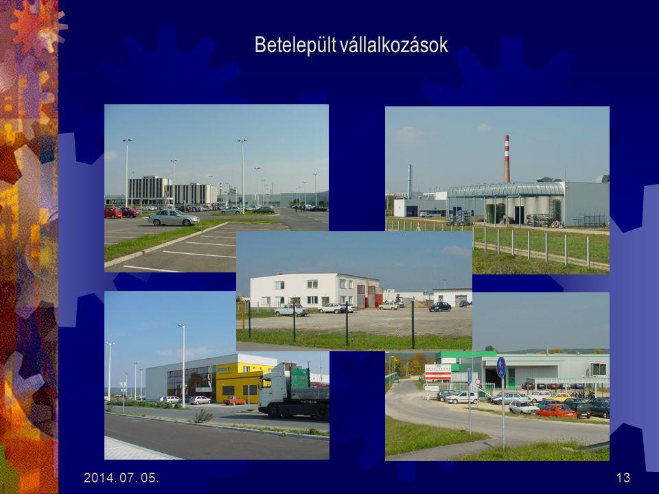 2014. 07. 05.12 Szentgotthárdi Logisztikai Centrum 2004. november 1.