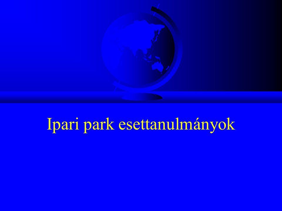 Ipari park esettanulmányok