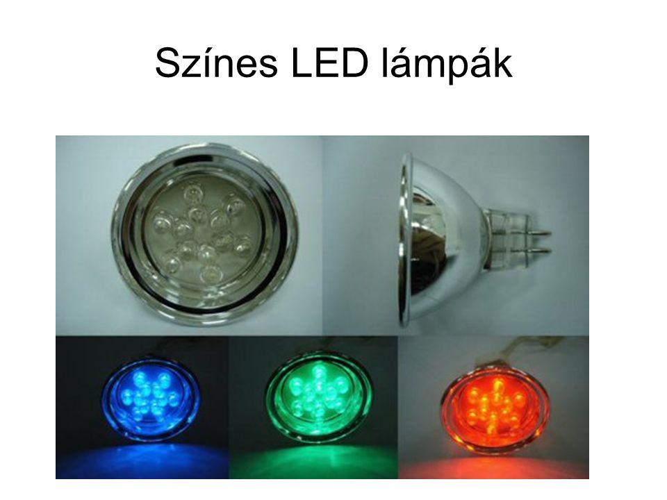 Színes LED lámpák