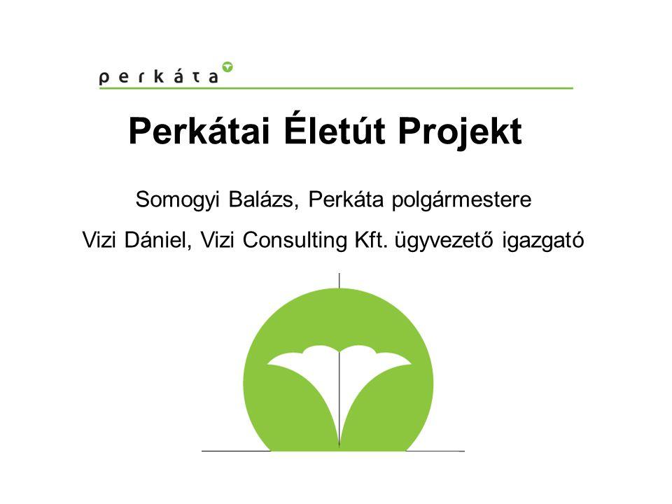 Perkátai Életút Projekt Somogyi Balázs, Perkáta polgármestere Vizi Dániel, Vizi Consulting Kft.