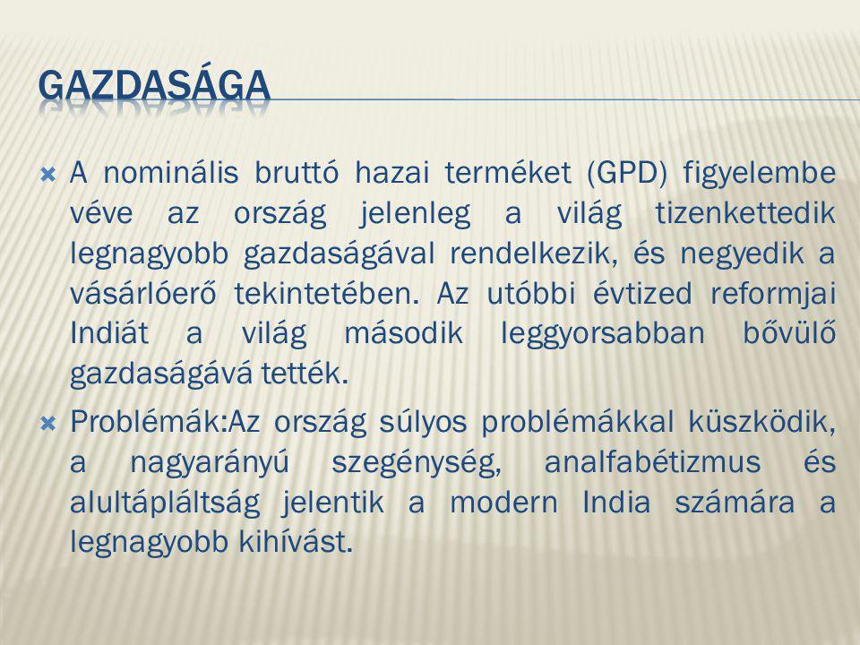  A nominális bruttó hazai terméket (GPD) figyelembe véve az ország jelenleg a világ tizenkettedik legnagyobb gazdaságával rendelkezik, és negyedik a