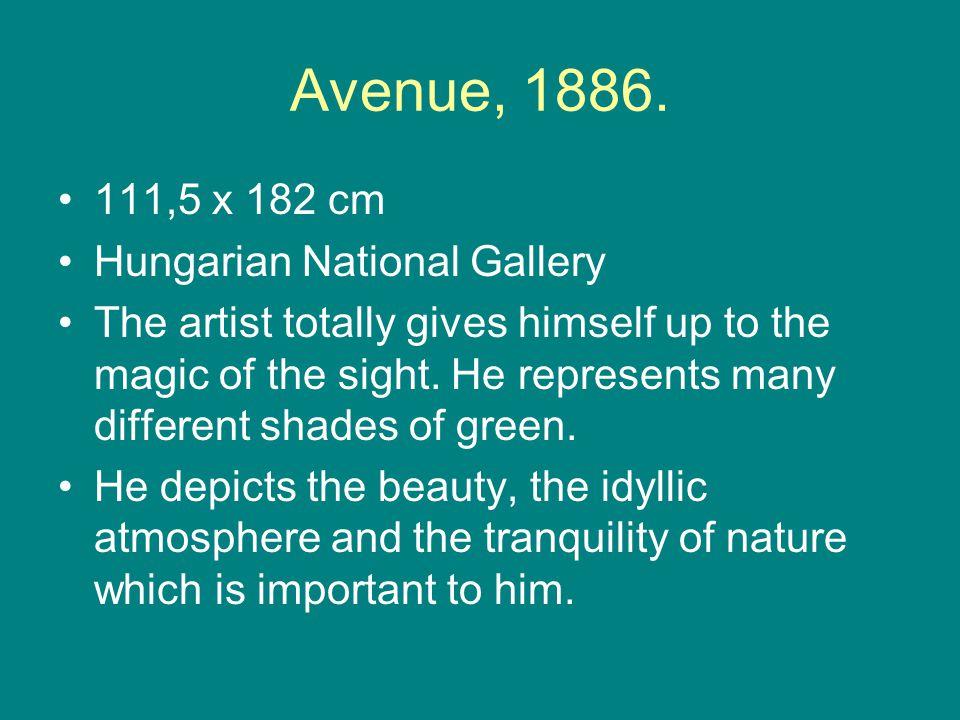 Avenue, 1886.